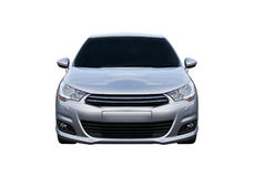 Citroën C4 isolated front Stock Photo