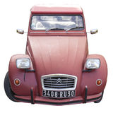 Citroën 2CV car Royalty Free Stock Images