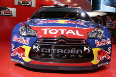 Citroën ds3 racing car Stock Photography