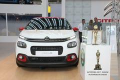 Citroën bij het Car Show van Belgrado Royalty-vrije Stock Fotografie