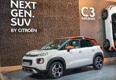 Citroën C3 Aircross Stock Foto