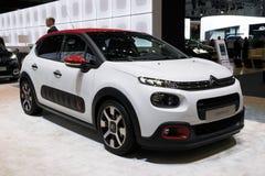 Citroën C3 1 2 de Handauto van PureTech Stock Afbeeldingen