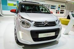 Citroën C1, Motorshow Geneve 201 Royalty-vrije Stock Afbeeldingen
