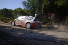 Citroën C4 WRC Stock Afbeeldingen