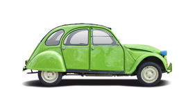 Citroën 2CV Stock Foto
