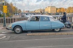 Citroën DS At Amsterdam The Netherlands 2018 royalty free stock image