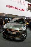 Citroën DS3R - de Show van de Motor van Genève van 2010 Stock Foto