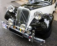 Citroën Traction Avant France. 1934 to 1957 with revolutionary features still in use today: a unitary body with no separate frame, four-wheel independent stock photos