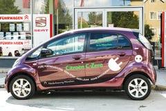 Citroën e-car Stock Images