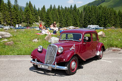 Citroen 11BL Royalty Free Stock Images