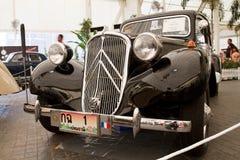 Citroen 11CV 1953年,葡萄酒汽车 库存图片