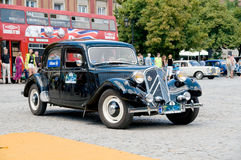 Citroen 1954 11 BL Photographie stock