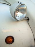 Citroen 2cv Headlight Royalty Free Stock Photography