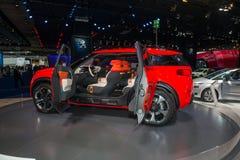 Citroen Aircross Concept Car - European premiere Royalty Free Stock Images