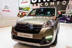 Citroen Berlingo, motorisk show Geneve 201 Arkivbild