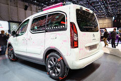 Citroen Berlingo Mountain Vibe Concept, Motor Show Geneve 201 Stock Photo