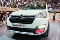 Citroen Berlingo Mountain Vibe Concept, Motor Show Geneve 201 Royalty Free Stock Image