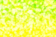 Citroen bokeh Royalty-vrije Stock Afbeelding