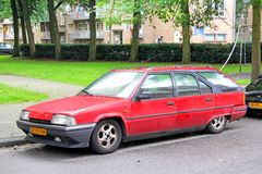 Citroen BX Break Royalty Free Stock Photo