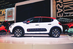 2017 Citroen C3 Obrazy Royalty Free