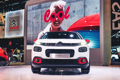 2017 Citroen C3 Obraz Stock