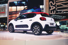 Citroen 2017 C3 Photo libre de droits
