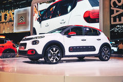 Citroen 2017 C3 Immagine Stock