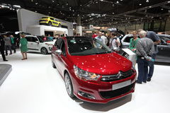 Citroen C4 at the Auto Mobile International Stock Photos