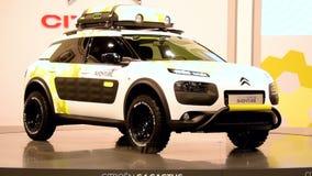 Citroen C4 Cactus Aventure concept car stock footage