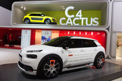 Citroen C4 Cactus car Royalty Free Stock Image