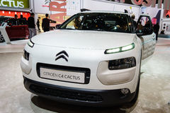Citroen C4 Cactus, Motor Show Geneve 201 Royalty Free Stock Photography