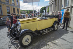 1928 Citroen C6 convertible Royalty Free Stock Photo