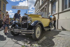 1928 Citroen C6 convertible Stock Photography