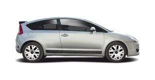Citroen C4 coupe Royalty Free Stock Photo