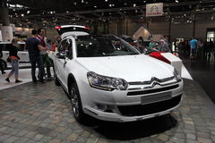 Citroen C5 Crosstourer at the AMI. Leipzig, Germany Royalty Free Stock Photo