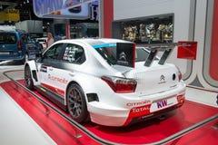 Citroen C-Elysee racing car Royalty Free Stock Photo