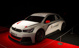 Citroen C ELYSEE WTCC Royalty Free Stock Photo