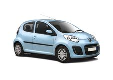 Citroen C1 royalty free stock photography