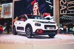 2017 Citroen C3 stock photos
