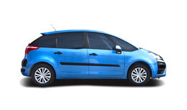 Citroen C4 Picasso. Isolated on white Royalty Free Stock Photos