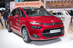 Citroen C4 Picasso. MOSCOW-SEPTEMBER 2: Citroen C4 Picasso at the Moscow International Automobile Salon on September 2, 2014 in Moscow, Russia Royalty Free Stock Images