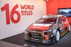 Citroen C3 WRC Obraz Stock