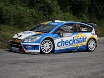 Citroen C4 wrc  rally car Stock Image