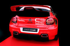 Citroen C3 WRC Rallye race car Royalty Free Stock Images