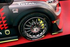Citroen C3 WRC Rallye racerbil royaltyfri foto