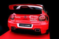 Citroen C3 WRC Rallye samochód wyścigowy Obrazy Royalty Free