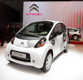 Citroen C-Zero - 2010 Geneva Motor Show Royalty Free Stock Photo