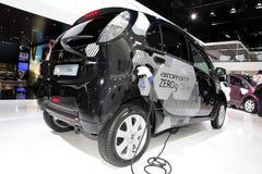 The Citroen C-zero electric car Royalty Free Stock Photos