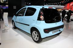 The Citroen C1 Stock Photos