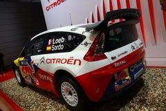 Citroen C4 WRC Immagine Stock